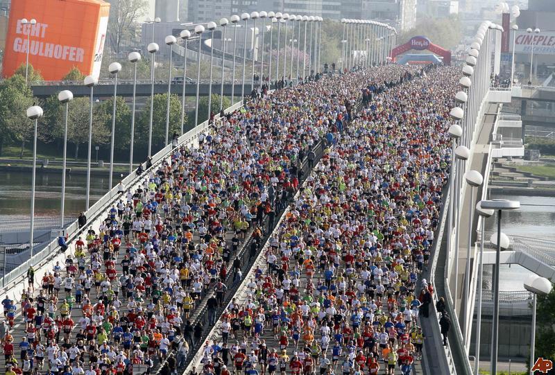 partenza vienna marathon